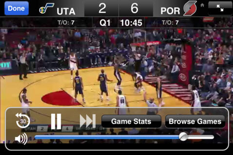 NBA League Pass Mobile