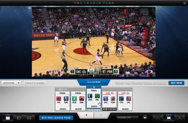 Review: NBA League Pass Broadband 2011-2012 - Sports Geekery