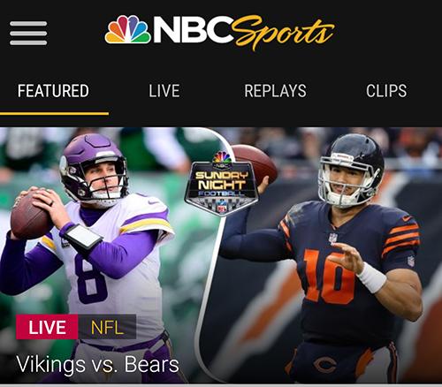 How To Live Stream Nfl Sunday Night Football Sports Geekery